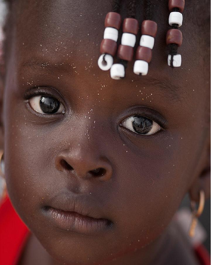 bambina capoverdiana