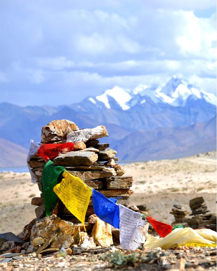 bandiera di preghiera tibetane