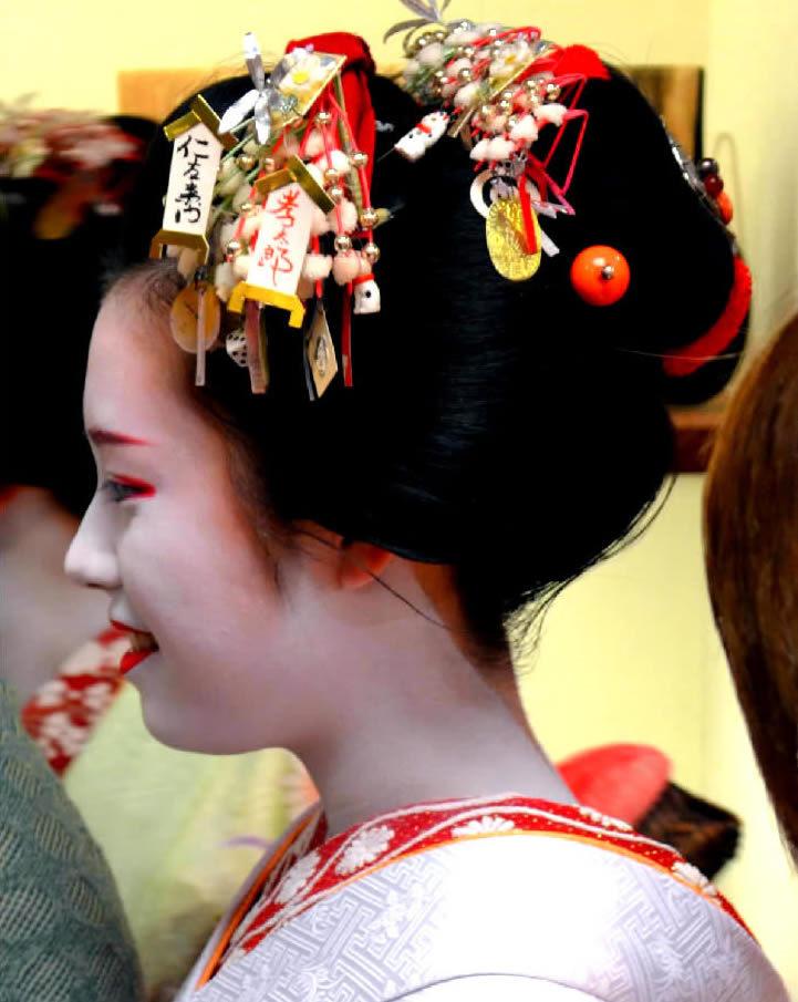 geisha giapponese a kyoto