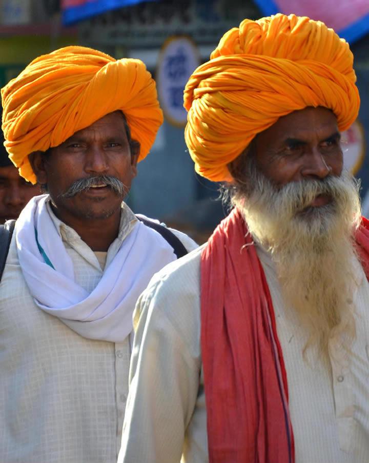pellegrini a pushkar in india